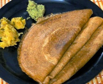 Foxtail millet and Little millet Dosa (Thinai and Samai Dosa)