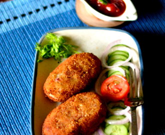 Beetroot chops, cutlets and Monsoon magic