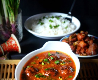 VEG MANCHURIAN RECIPE / VEGETABLE MANCHURIAN GRAVY