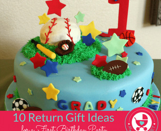 10 Novel Return Gift Ideas for a First Birthday Party