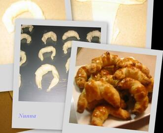Croissants con hojaldre rápido (Thermomix)