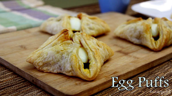 Egg Puff Pastry Recipe – How to make Indian Style Egg Puff Pastry