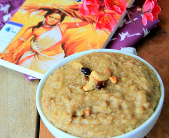 Rava Sweet Pongal Recipe - Semolina Sweet Pongal Recipe - Pongal Recipes - Festival Recipes - Pooja Recipes - naivedyam recipes