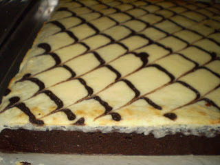 Marbel Cheese Brownies