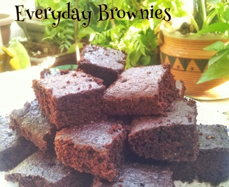 Recipe: EVERYDAY BROWNIES