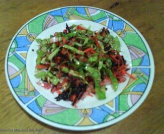 Salada colorida