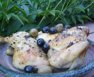 Spicy Chicken With Olives (Pollo Alla Diavola Con Olive)