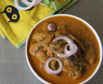 Dahiwale Mushrooms - Mushroom yogurt curry - Simple mushroom curry - Simple mushroom side dish recipe