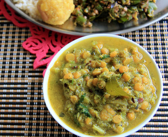 Broccoli Kootu - Side dish for rice, roti