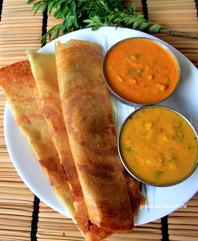 Karuvepillai Dosai - Curry Leaves Dosa Recipe - Kodo Millet Curry leaves dosa - breakfast, dinner recipe