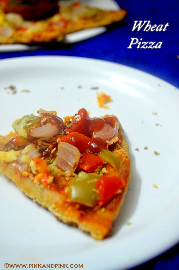 Wheat Pizza Recipe in Pressure Cooker Without Yeast - How to make Pizza in pressure cooker