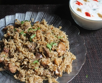 Easy Herb Chicken Biryani Recipe - Pressure Cooker Biryani Recipes