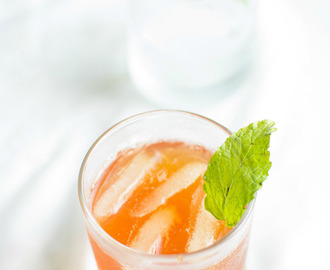iced lemon tea recipe - summer drinks