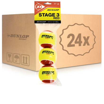 Mini Tennis (Stage 3) 24x 3-pack Påse I Kartong