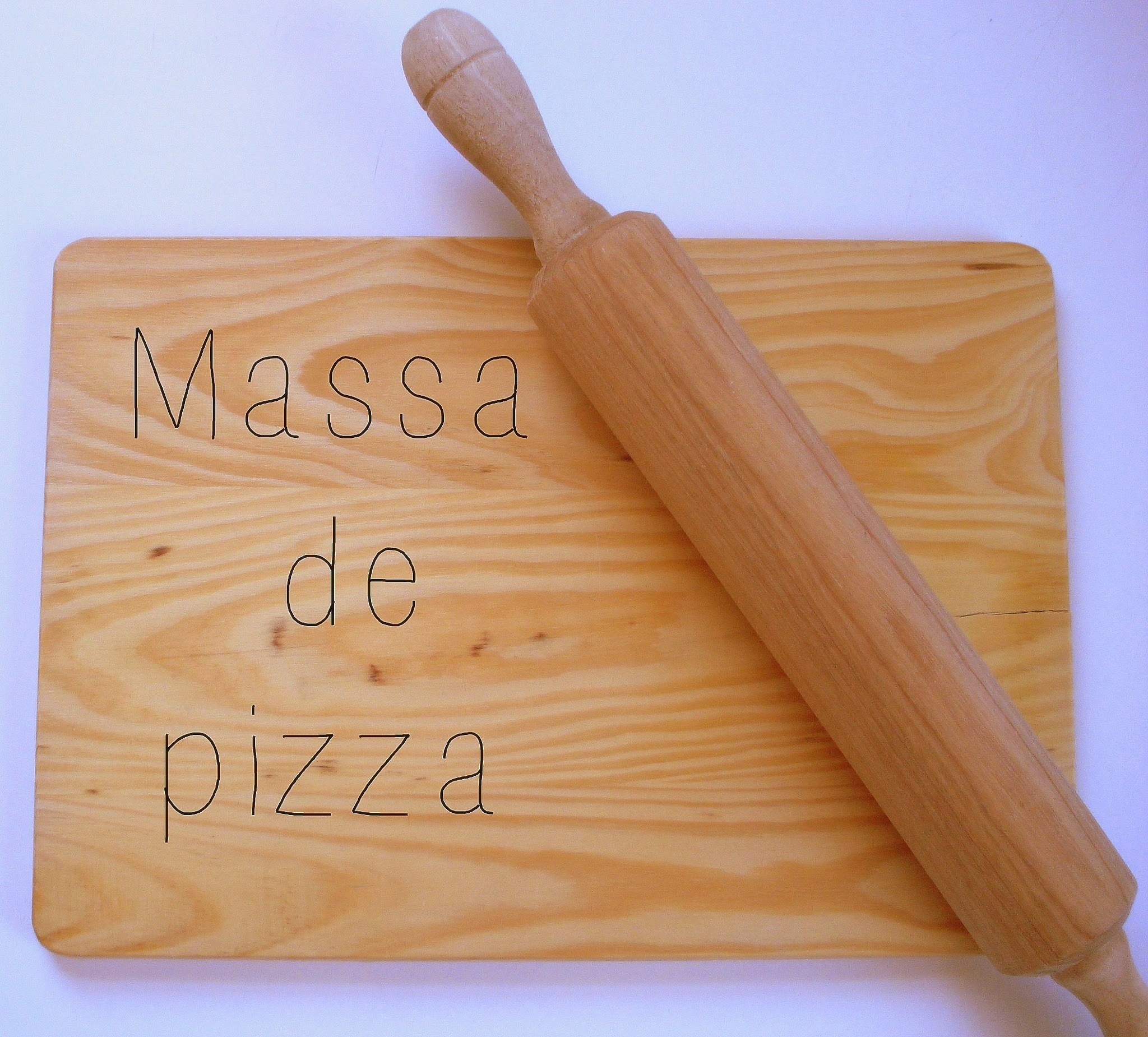 Massa de pizza - receita base
