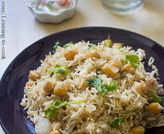 Channa Pulao | How to make Channa Pulao step by step | Pulao Recipes