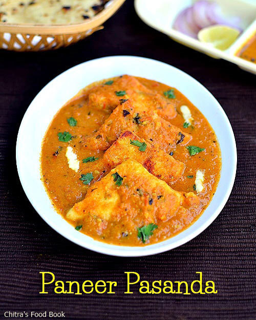 Paneer Pasanda Recipe-Paneer Recipes