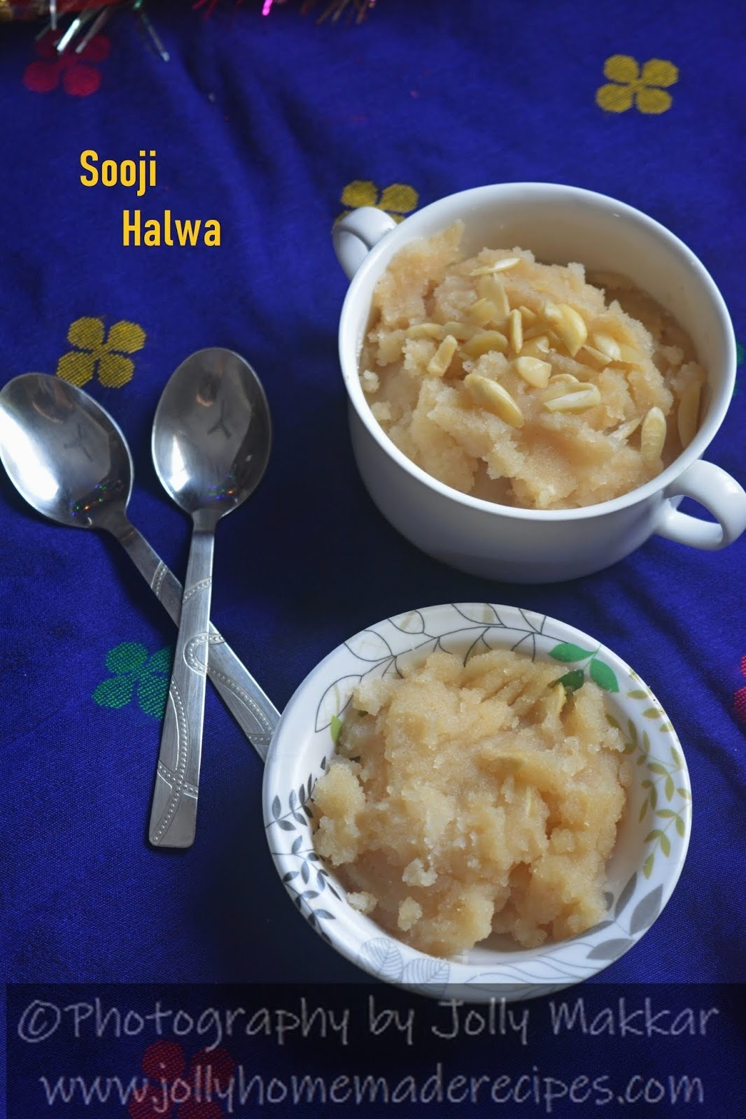Sooji Halwa Recipe, How to make Sooji ka Halwa - Ashtami Prasad | Indian Style Slow Cook Semolina Pudding