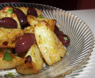 Roast Potatoes With Olives