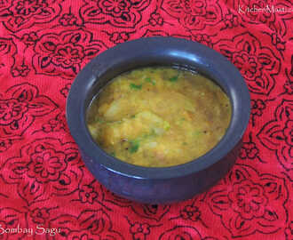 Bombay Saagu / Potato Sagu Recipe