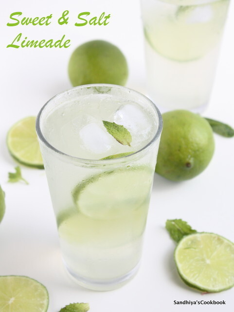 Sweet & Salt Limeade | Limeade Recipe