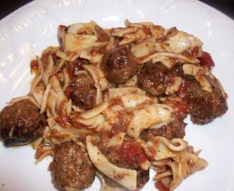 Sweet Italian Sausage and Vidalia Onion
