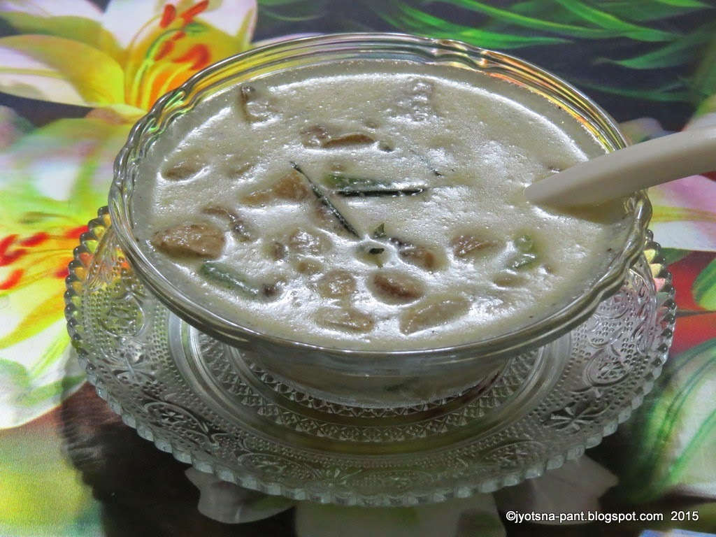 Mushroom Soup in Cream Of Coconut
