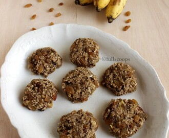 Banana Oats Cookies | No Sugar Cookies
