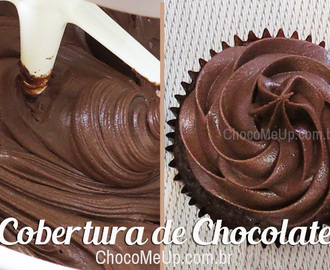 Cobertura de Chocolate e Cream Cheese