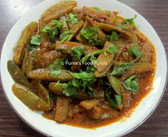 Tondali Rassa Bhaji ~ Ivy Gourds Curry