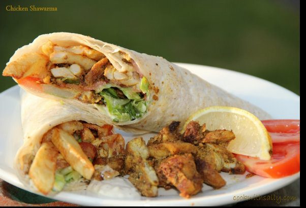 Lebanese Chicken Shawarma Recipe
