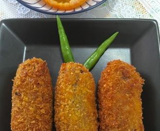 MACHER CHOP / FISH CROQUETTE