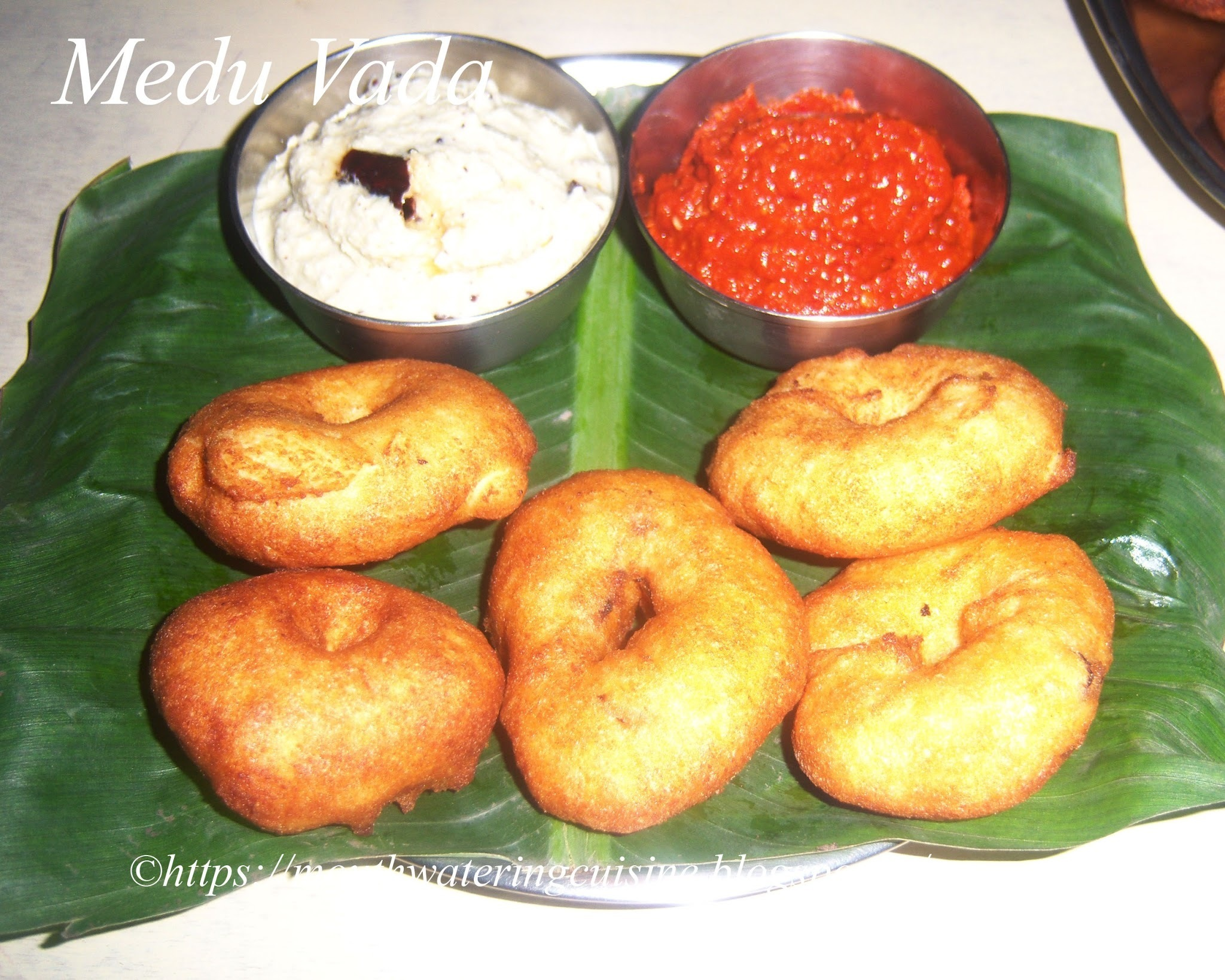 Medu Vada Recipe -- How to make Medu Vada Recipe -- Garelu Recipe