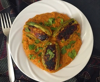 Potoler Dolma | Bengali Style Stuffed Pointed Gourd Curry| Potoler Dolma Recipe with Stepwise Pictures | Gluten Free and Vegan Recipe