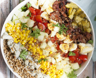 Easy Southern Summer Cobb Salad