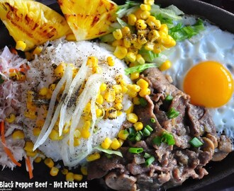 Sizzling Black Pepper Beef – Hot Plate Recipe