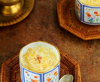 Semiya Payasam {A Rich Indian Dessert}