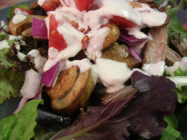Steak Salad W/Creamy Horseradish Dressing