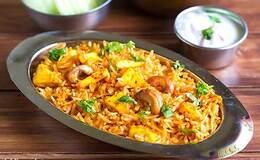 paneer vegetable rice