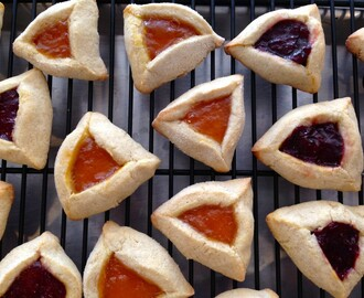 Purim Hamantashen Cookies
