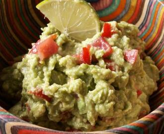 Holy Guacamole! an Authentic Mexican Snack.