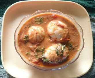 Egg Tomato Gravy Curry