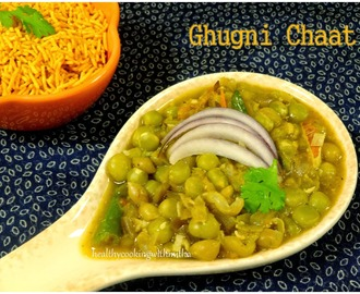 Ghugni Chaat - A Delicious Bengali Street Food Recipe
