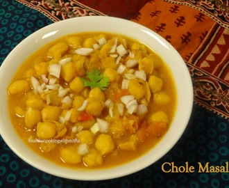 Chole Masala- Restaurant style home made!!