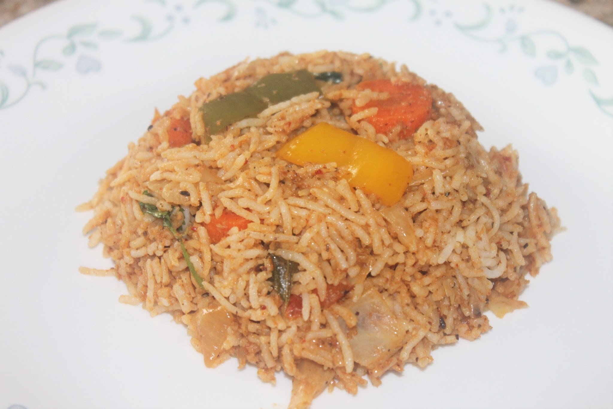 Karaikudi Veg Fried Rice
