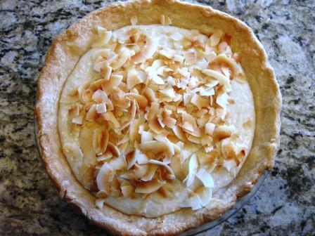 Vegan Coconut Cream Pie Filling