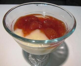 Strawberry Margarita Dessert Sauce