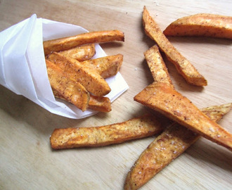 FRITES DE PATATES DOUCES CAJUN AU FOUR
