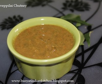 Karuveppilai Chutney (Curry Leaves Chutney)