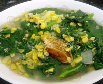 Sauteed Corn and Spinach